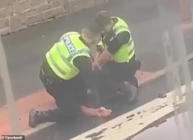 West Yorkshire Police said it was investigating the arrest, which was carried out on Sunday