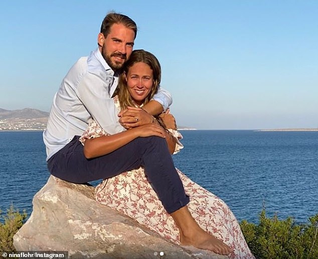 Prince Philippos of Greece has announced his engagement to his long-term girlfriend, creative director for airline VistaJet Nina Nastassja Flohr (pictured)