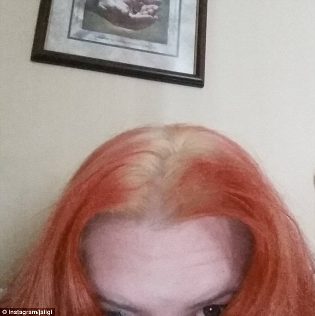 Hair dye can also be problematic, as one woman with blonde roots and orange hair aptly demonstrated