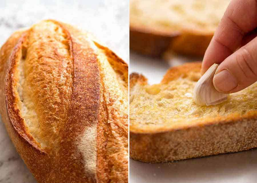 Best Bread for Bruschetta - sourdough or ciabatta